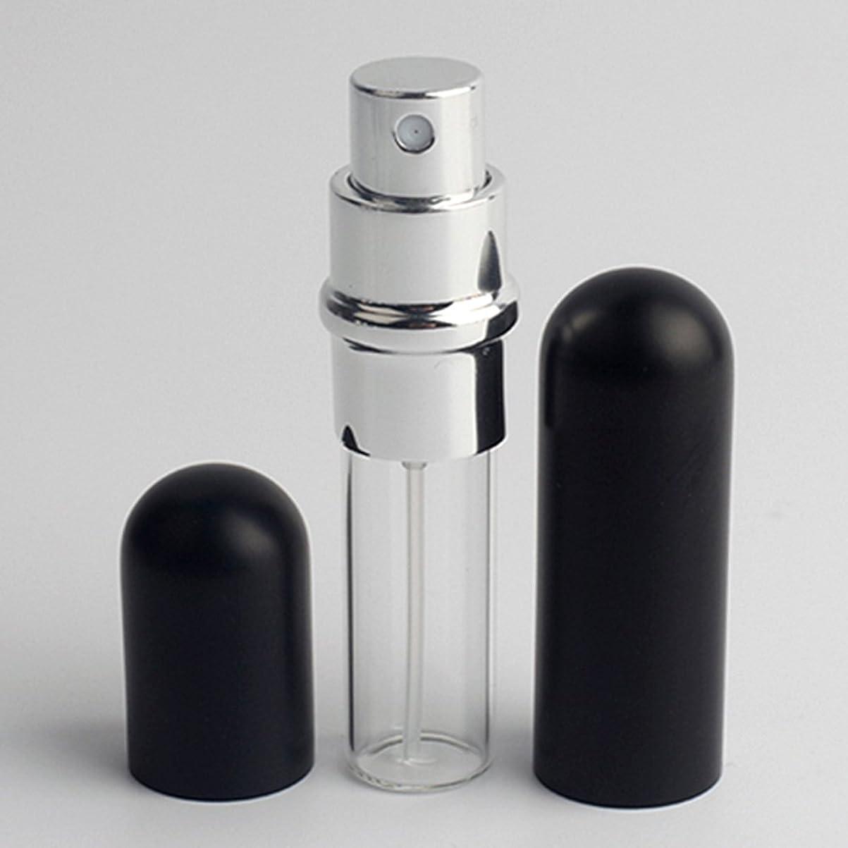 研磨酒Merssavo 6ml金属ガラス小型ポータブル詰め替え式アトマイザートラベルスプレー香水ボトル