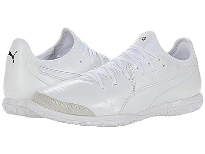 PUMA King Pro IT (Puma White/Puma White/Puma White) Shoes