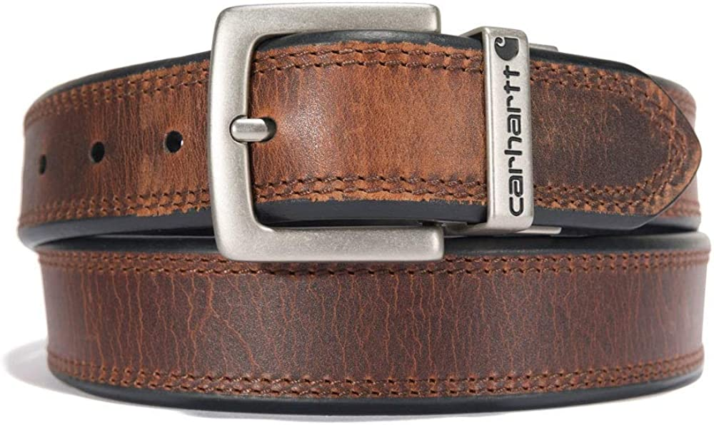 Carhartt Max 52% OFF Men's Reversible Limited price Double Stitching Row Belt