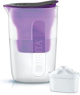 Brita 1019403 Carafe filtrante Fun 1,5L, Plastique, Violet, 30 cm
