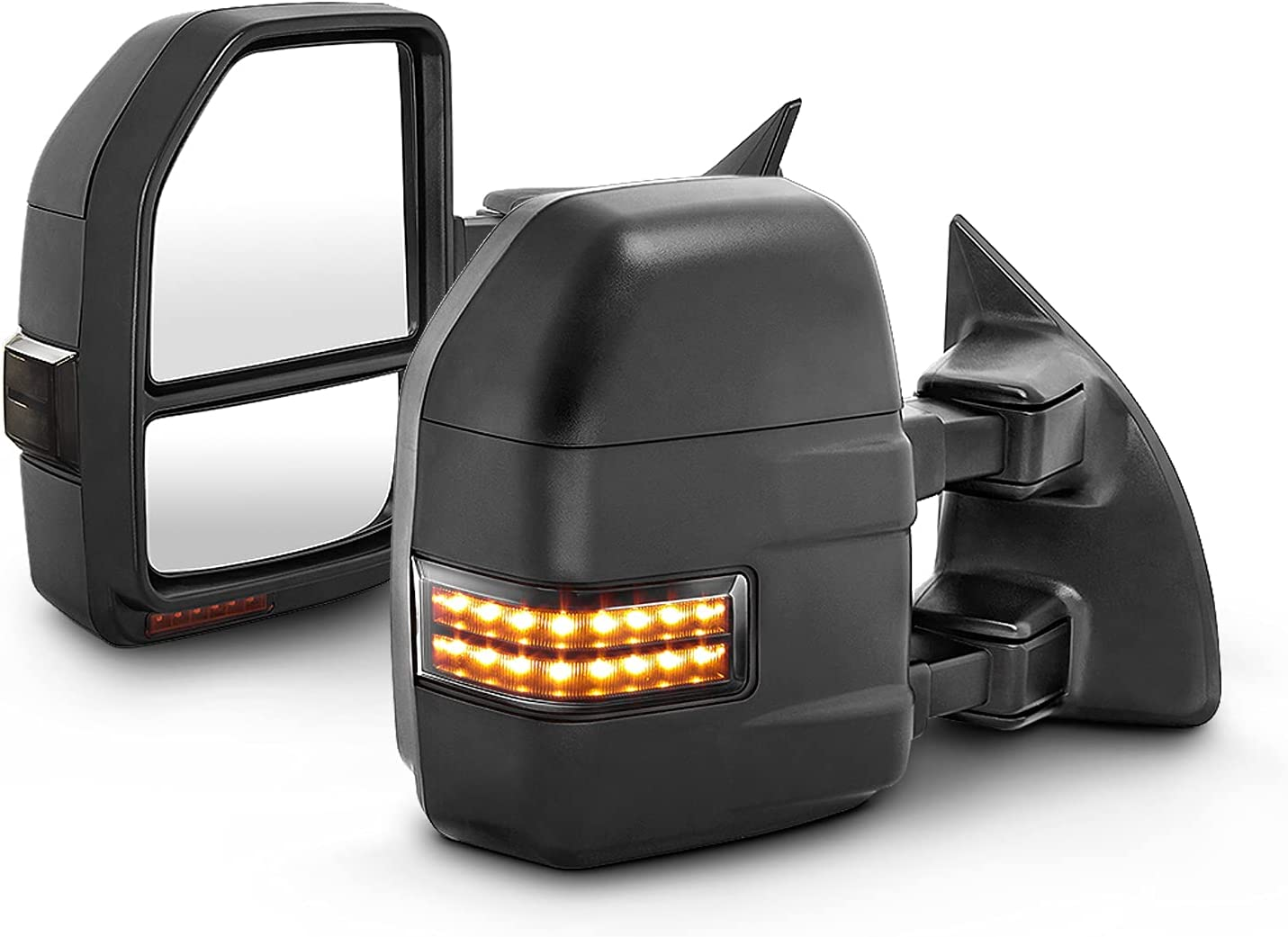 Towing Mirror Fits 99-07 F250 F350 Indefinitely Max 49% OFF F550 Exc 01-05 SuperDuty F450