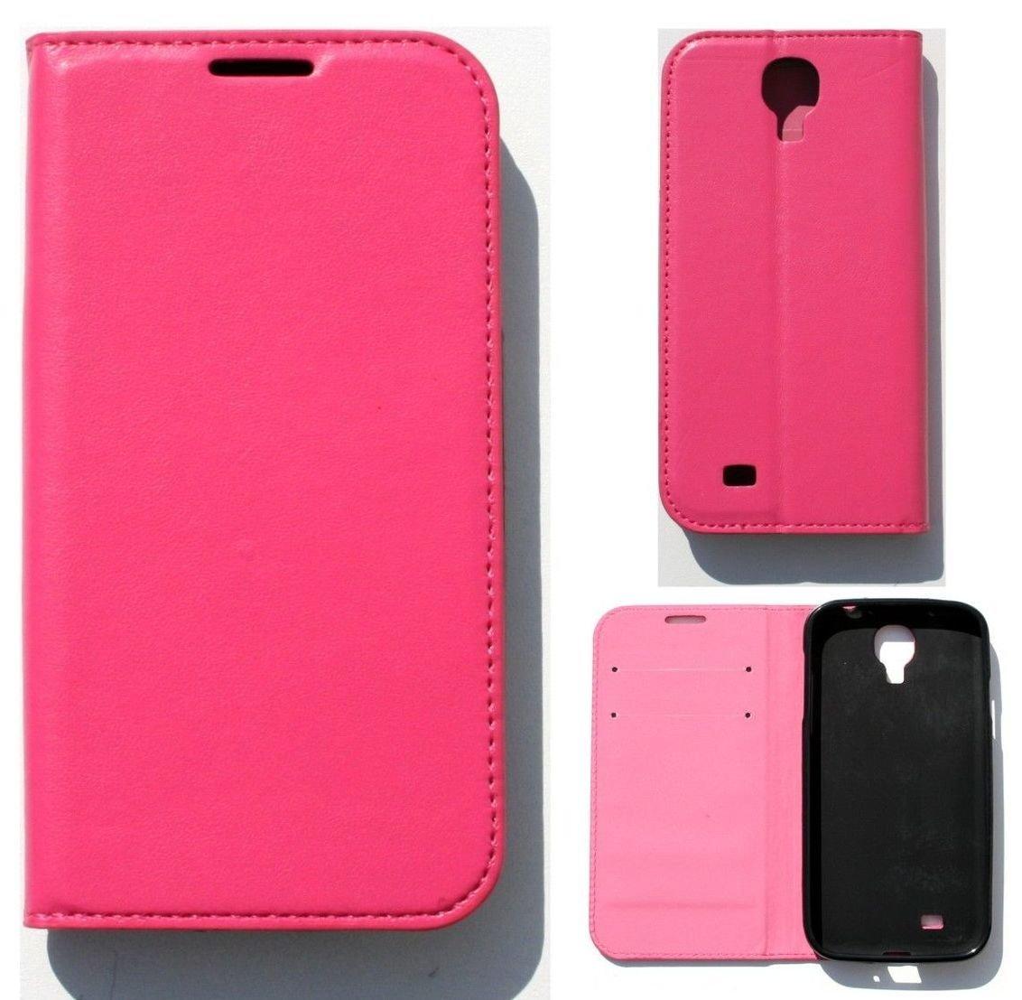 Samsung Galaxy S4 Mini Magnetic Book Case con compartimentos Wallet Funda Classic rosa: Amazon.es: Electrónica
