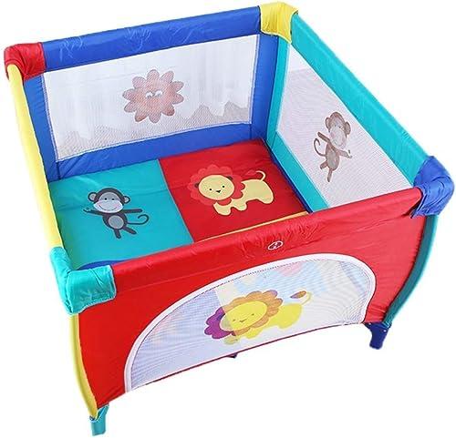 punto de venta en línea YEXWA Baby Deluxe 4 Panel Small Mesh Fence Patio Patio Patio De Juegos Portátil Independence (Color  tienda en linea