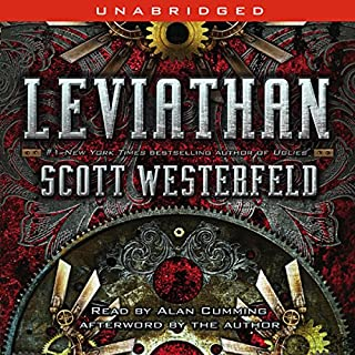 Leviathan                   By:                                                                                                                                 Scott Westerfeld                               Narrated by:                                                                                                                                 Alan Cumming                      Length: 8 hrs and 16 mins     2,456 ratings     Overall 4.2