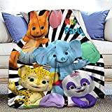 Party Throw Blanket Ultra-Soft Micro Fleece Throw Blanket Flannel Blankets for Couch Bed Living Room 50x40 Inch
