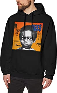 Men's NAS Illmatic Fashion Crewneck Sweatshirt Black with Funny Hoodie
