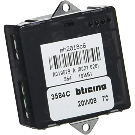 Bticino L4003CW Livinglight Comando Luci Wireless Antracite