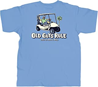 T Shirt for Men | This is How I Roll | Cool, Funny Graphic Tee for Dad, Husband, Grandfather Gift | Kings Blue