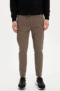 DeFacto Slim Fit Beli Bağcıklı Jogger Pantolon
