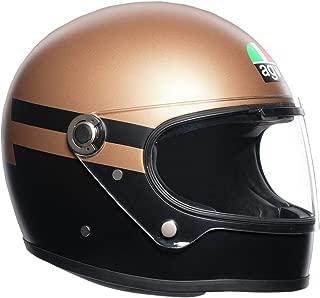 AGV Unisex-Adult Full Face X3000 Superba Motorcycle Helmet Gold/Black Medium-Small