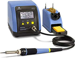 Soldering Iron Station Kit - 110V 60W Digital LED Soldering Station Temperature Adjustable 10 Minute Sleep Function Welding Tools for DIY Hobbyist/Professional Solder Jobs