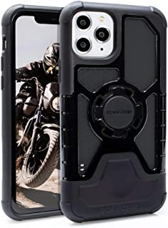 Rokform - iPhone 11 Pro Magnetic Case with Twist Lock, Crystal Slim Magnetic iPhone Case Series (Black)