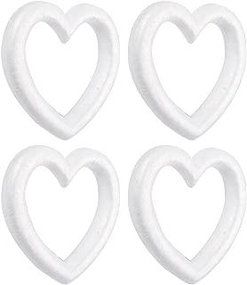 Best styrofoam heart shaped wreath form Reviews
