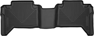 Husky Liners 53801 Black X-act Contour 2nd Seat Floor Liner Fits 2005-19 Toyota Tacoma Double Cab with Automatic Transmission
