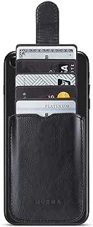 Card Holder for Back of Phone, RFID Blocking Cell Phone Credit Card Holder Wallet Pocket Stick on Back iPhone (Black)