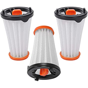 Genius Invictus One 2 Teile integrierter HEPA-Filter f/ür eine effektive Filtration | Filter-Set Reinigung unter flie/ßendem Wasser
