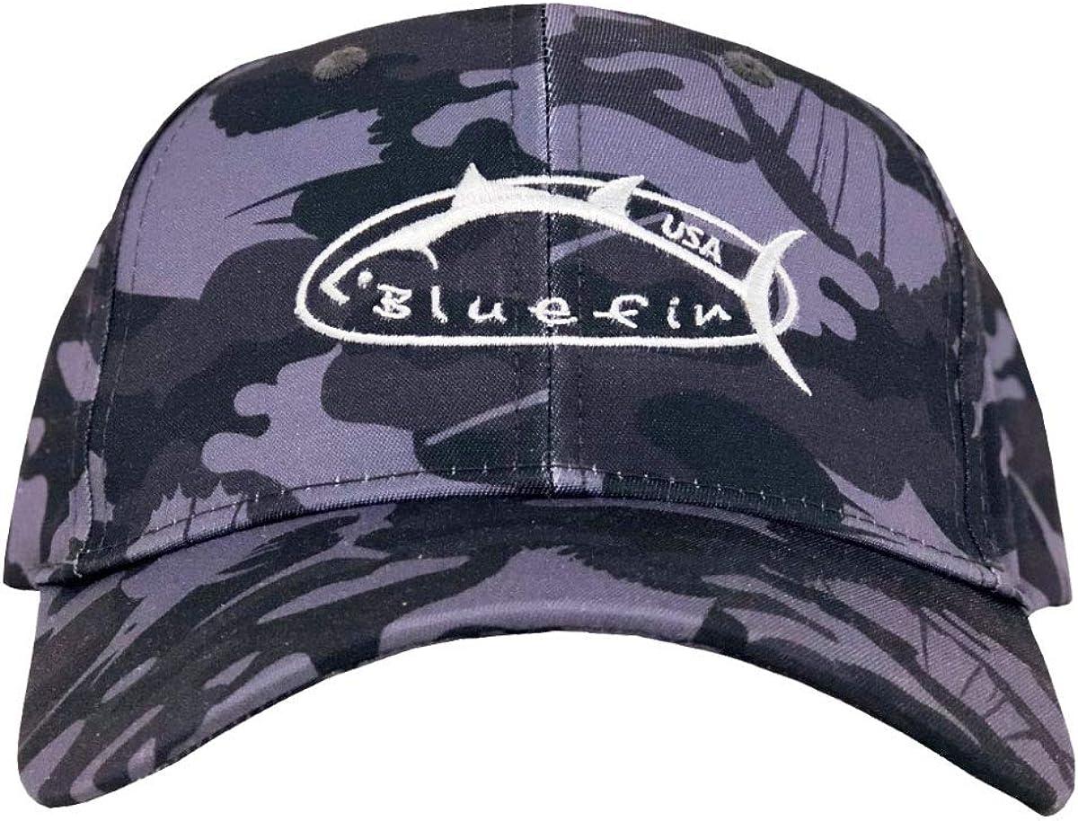 Bluefin USA Dedication Fish Camo Hat Charlotte Mall