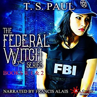 The Federal Witch     The Collected Works, Book 1              By:                                                                                                                                 T S Paul                               Narrated by:                                                                                                                                 Francis Alais                      Length: 15 hrs and 3 mins     20 ratings     Overall 3.5