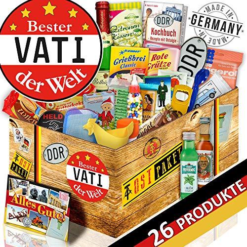 Bester Vati / Ostdeutsches Allerlei / DDR Set 24tlg. mit Ostspezialitäten