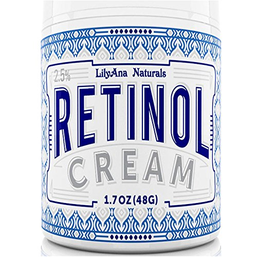 Retinol Cream Moisturiser for Face and Eyes, Use Day and Night - for Anti Ageing, Acne, Wrinkles - made with Natural and Organic Ingredients - 30ml
