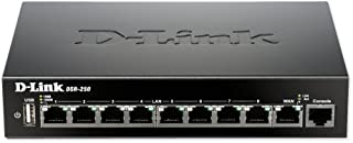 D-Link 8-Port Gigabit VPN Router with Dynamic Web Content Filtering (DSR-250)