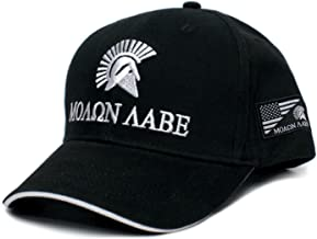 Posse Comitatus Molon Labe Come and Take It Embroidered Adult One-Size Baseball Hat Cap Black