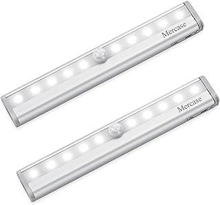 Mercase Sensor de Movimiento Luces Nocturnas Interior para Armario Cajón Escaleras