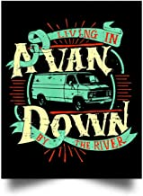 Dura Jonah Living in A Van Down by The River Wall Art Print Poster Home Decor(17x22)