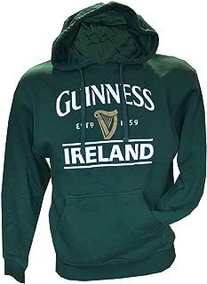Guinness Green Ireland Harp Unisex Pullover Hoodie Hooded Sweatshirt