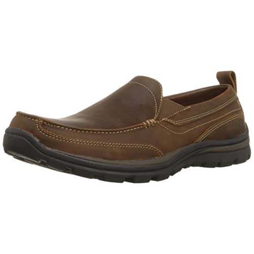 Skechers Mens Relaxed Fit Memory Foam Superior Gains Slip-On