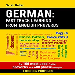 German: Fast Track Learning from English Proverbs cover art