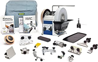 Tormek Sharpening System Ultimate Bundle TBU804 T-8. A Complete Water Cooled Sharpener With Woodturning Jigs, Hand Tool Jigs, and the Planer Blade Jig