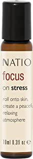 Natio Focus On Stress Pure Essential Oil Blend Roll-On, 10ml