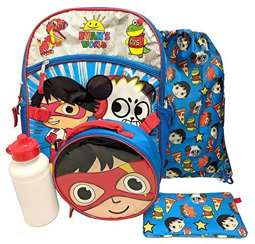 Ryans World 16' Backpack 5pc Set