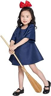 Peachi Cute Girls Kiki Costume Children Halloween Cosplay Outfit Dress-up Party Fancy Dress