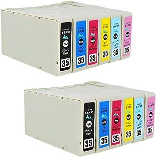 IC6CL35 6色×2=12本セット【 IC6CL35 BK/C/M/Y/LC/LM 各色2本】対応機種: PM-A900 PM-A950 PM-D1000 ICチップ残量表示検知機能付き エプソン用 Mt.Smile製 純正 互換 インクカ...