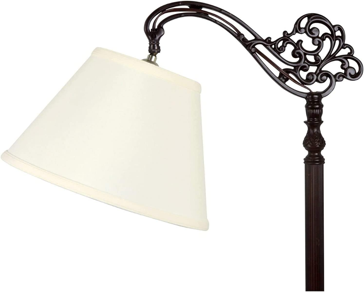 Upgradelights Wholesale White Linen 12 Inch Lamp 9x1 Large discharge sale Replacement Shade Uno