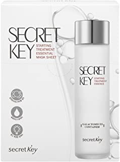 [SECRET KEY] Starting Treatment Essential Mask 30g 10 Pack - Skin Clear and Moisturizing Boosting Essence Facial Mask Sheet, Contained Galactomyces 40,000ppm