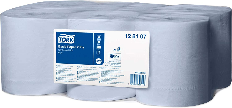 Tork 128107 Standard Papierwischtücher für das das das M2 Innenabrollung Spendersystem   2-lagiges stabiles Papier in Blau   6 x 150 Meter B004PTS3VA | Produktqualität  | Kostengünstig  | Zürich  8b3807