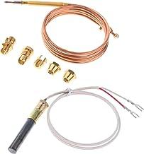 JIAN 90 cm Thermokoppel Vervanging Set & 61cm Thermopile Fit voor gasboiler en gasboiler Exquisite