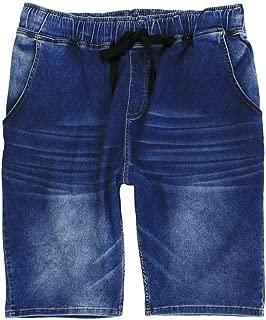 Neu Herren Jeans Bermudas Stretch kurze Hose schwarz black Übergröße 62,68,82