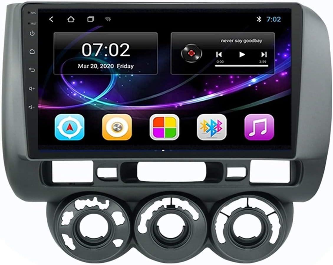 Android 10.0 Car Stereo Sat Nav 2001-2008 for Ranking TOP19 Jazz Fit Hon-da Popular IP