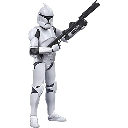 STAR WARS Figura de acción Coleccionable The Black Series Phase I Clone Trooper de 6 Pulgadas de Clone Wars Coleccionable, niños de 4 años en adelante