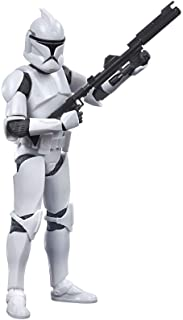 Star Wars The Black Series Phase I Clone Trooper Toy 6-Inch Scale Star Wars: The Clone Wars Collectible Action Figure, Kid...