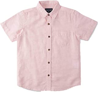 DJ & C By FBB Linen Shirt with Patch Pocket