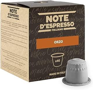 Note D'Espresso Orzo, Bevanda in capsule, 2,7 g x 40
