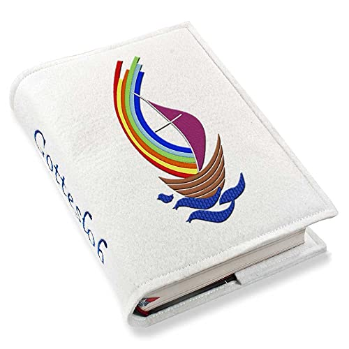 Brillant Gotteslobhülle Wattiert Top Qualität Neues Gebetbuch Blau Einband