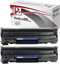 PerfectPrint - 2 negro Compatible Impresora cartuchos de tóner para impresora HP CF283A para HP LaserJet Pro M125a M125nw M127fn M127fw MFP