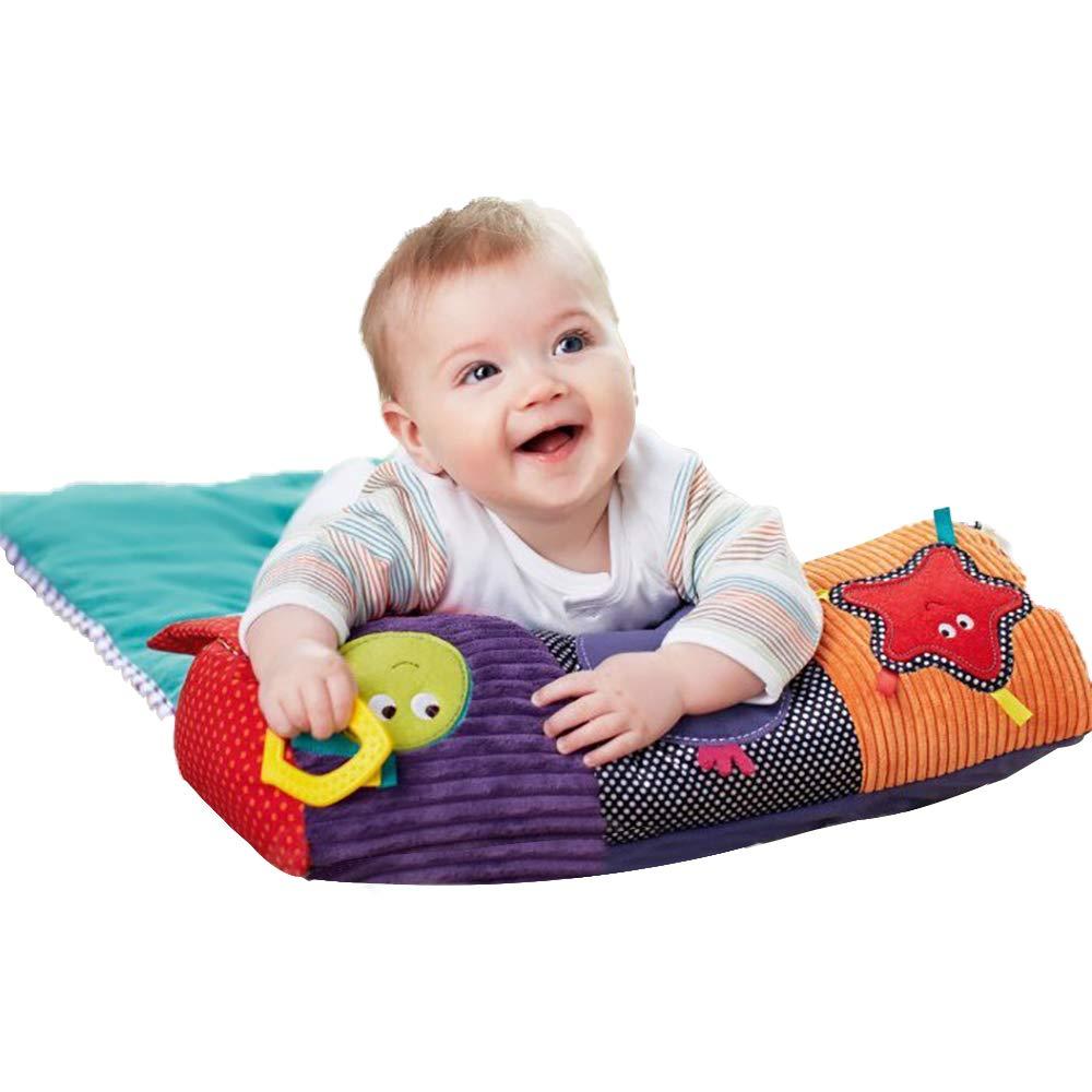 Baby Baby Baby Baby Tummy Time Crawling Play Mat Actividad Gimnasio Niño  Juego Pad Almohada
