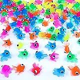 German Trendseller® - 24 x Ultra Stretchy - Neon Fische - für Kinder ┃ NEU ┃ Kindergeburtstag ┃ Mitgebsel ┃ Findet Glubschy Fische ┃ 24 Stück